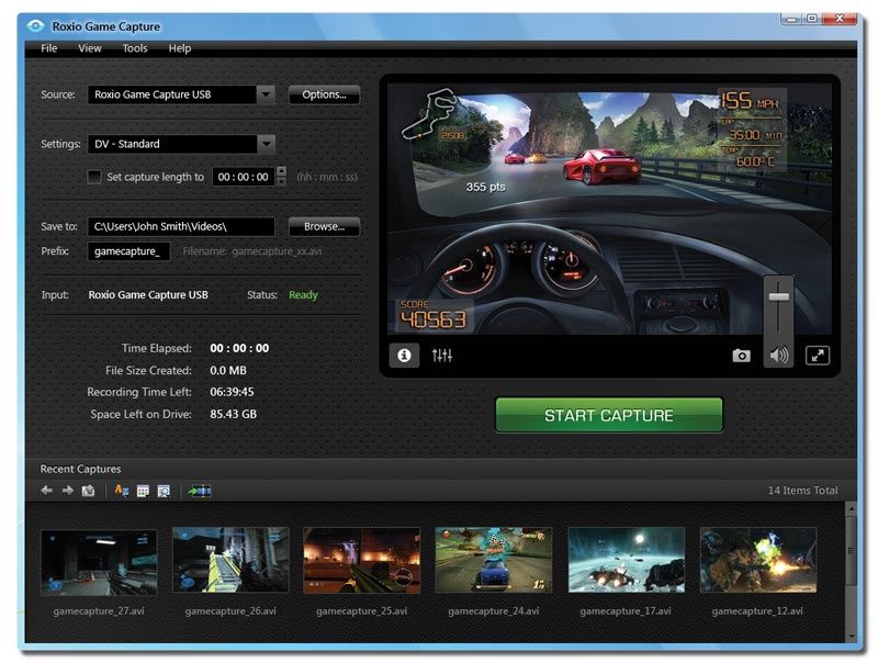 roxio web camera software