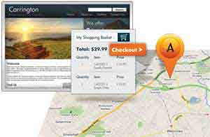 Online booking, maps, and more