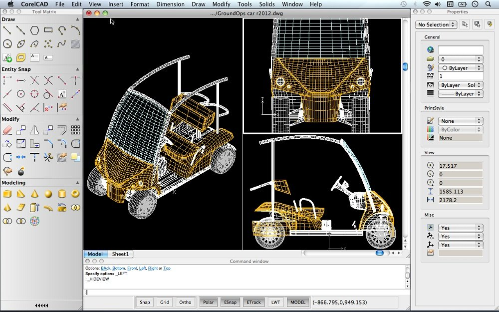 Free Cad Software For Car Design
