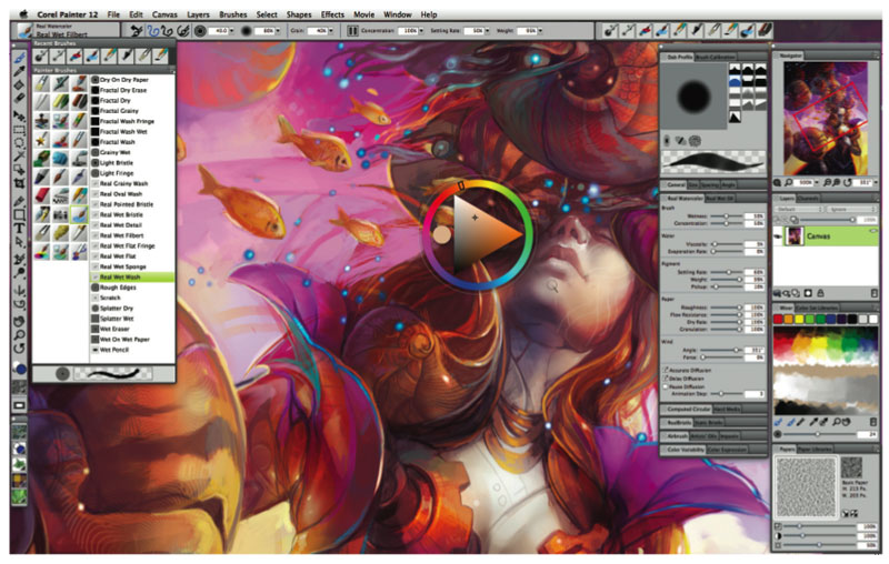 Corel Painter 12 Software