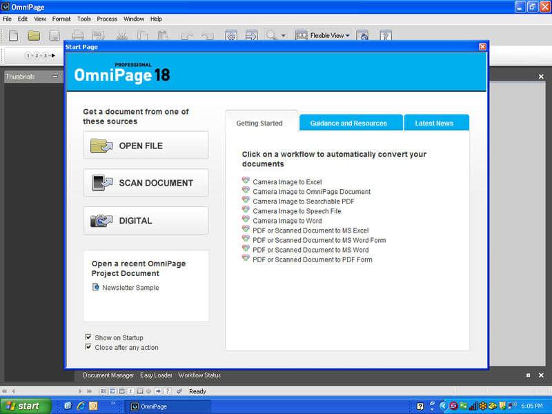 Nuance omnipage professional 18