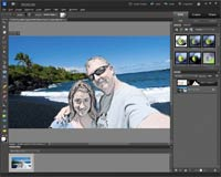 Adobe Photoshop Elements 10 Smart Brush