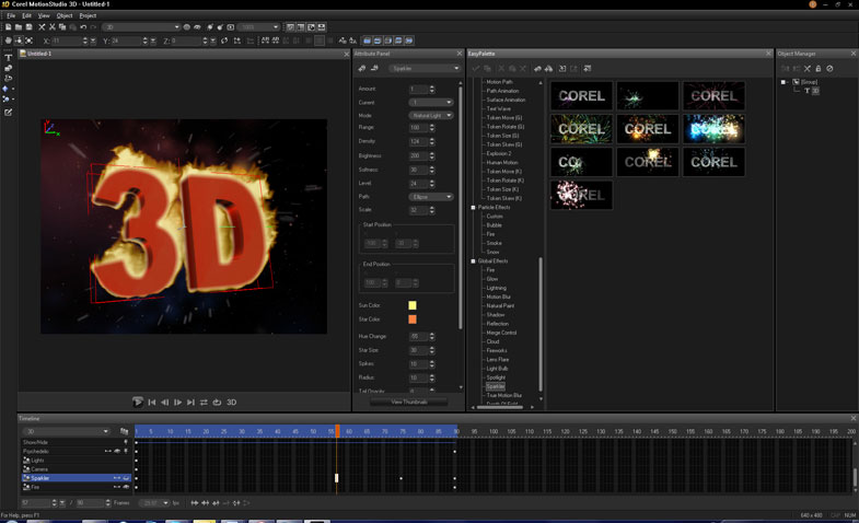 3d video title maker