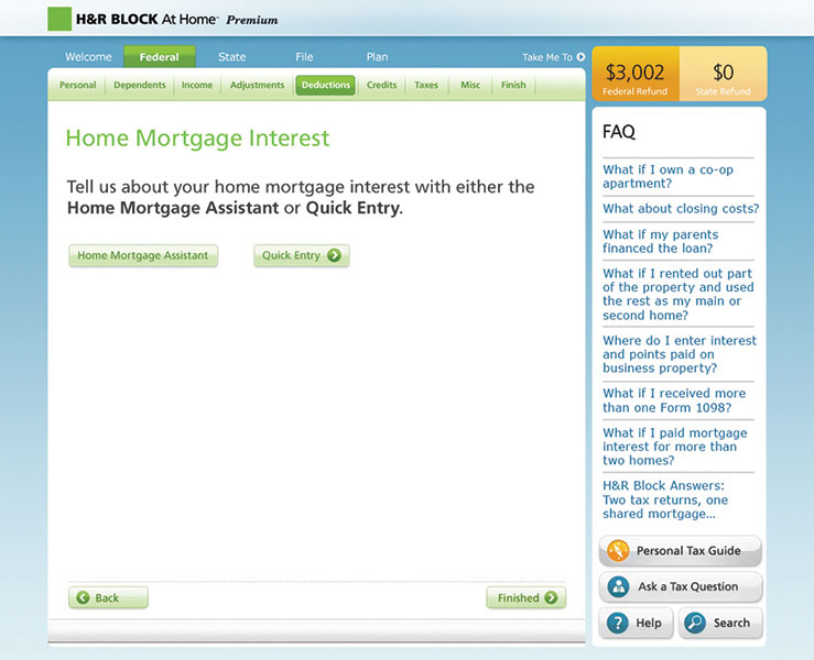 best at home tax software
