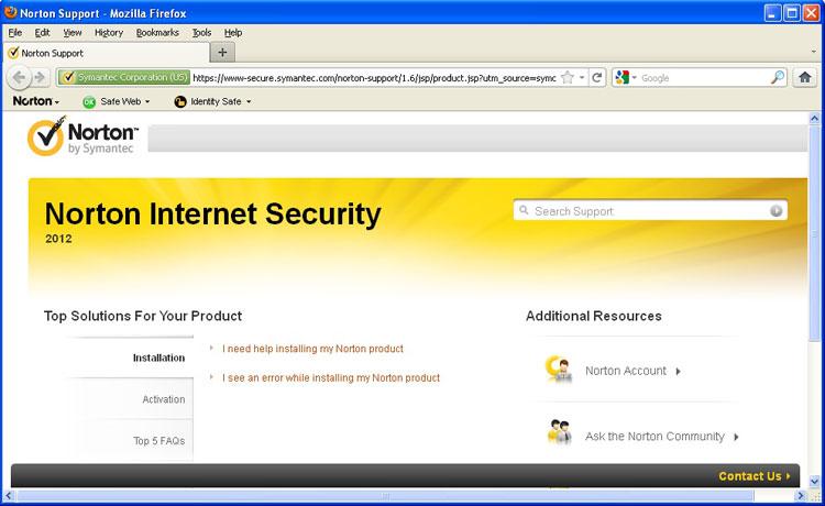 norton internet security 2012 1 user 3 pc. Black Bedroom Furniture Sets. Home Design Ideas