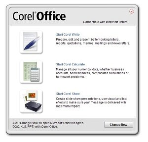 Corel Office Launcher