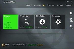Norton Antivirus 2013