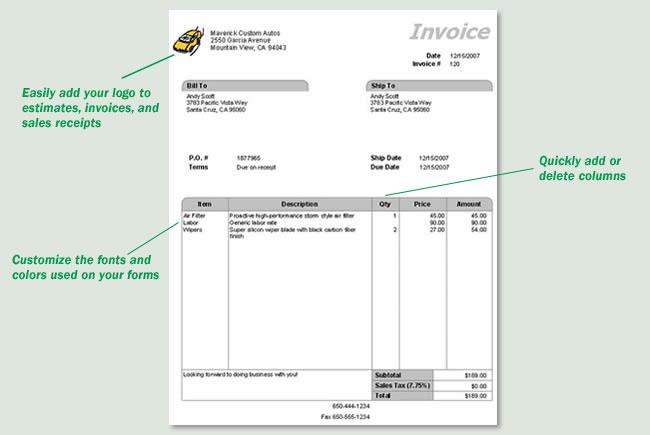 Amazon.com: QuickBooks Invoice Manager 2007 [OLDER VERSION]