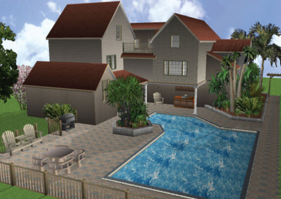 3d home architect home landscape design old for 3d home architect