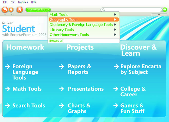 Msn encarta language homework help