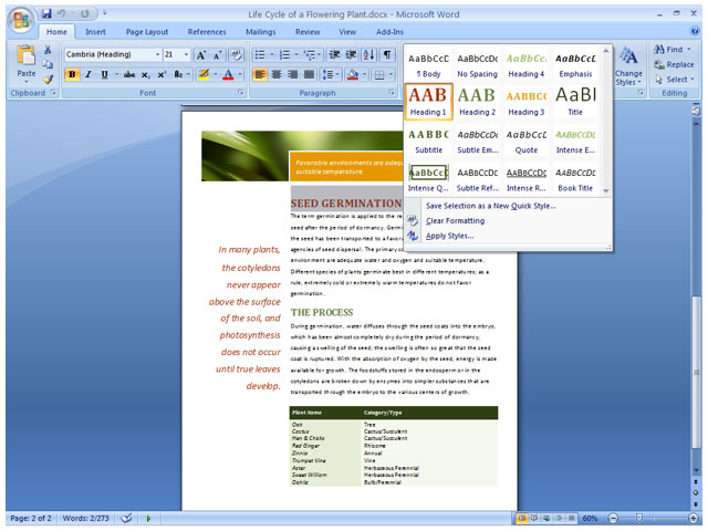 Amazon microsoft office home and student 2007 old version formatting galleries make it easier to find and apply formatting changes fandeluxe Image collections
