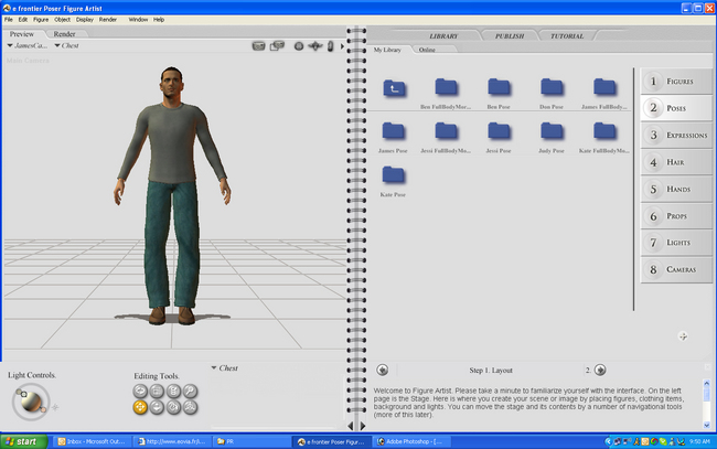 poser 7 free  for windows