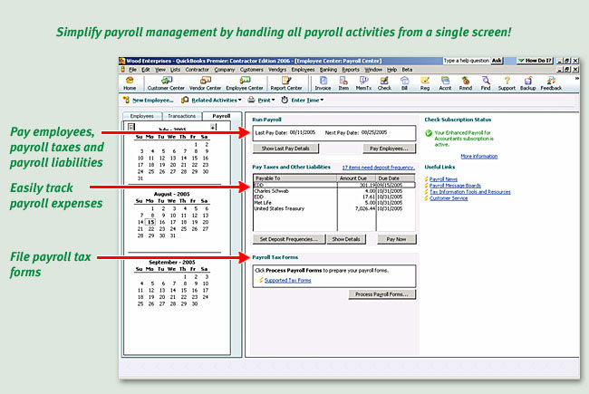 Amazon quickbooks enhanced payroll 2007 older version view larger altavistaventures Images
