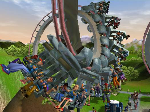Amazon com: RollerCoaster Tycoon 3 - Mac: PC: Video Games