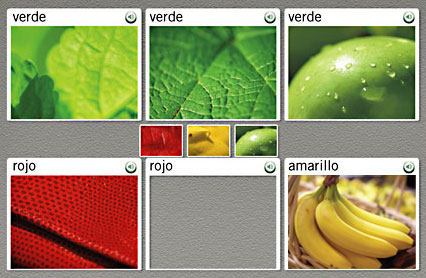 In Rosetta Stone you learn the meaning of new language from clear, real-life images.