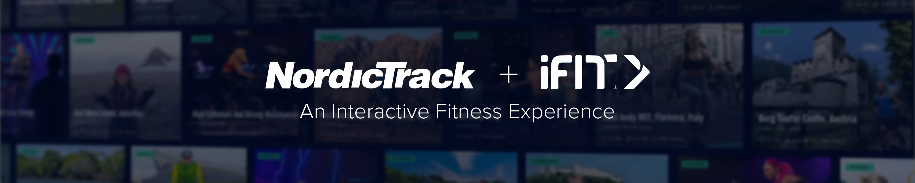 Nordictrack iFIT Banner