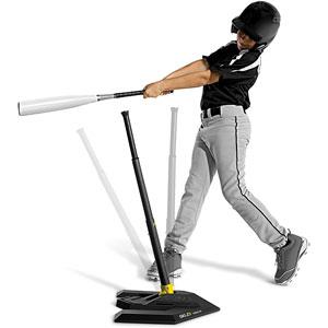 SKLZ Spring Tee - Adjustable Height Anti-Tip Baseball Batting Tee