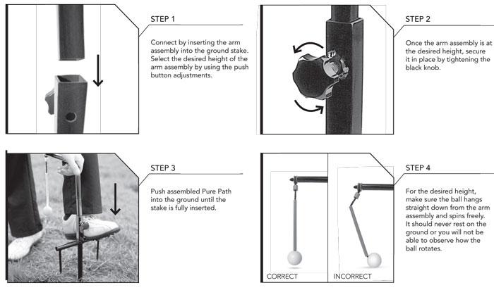 sklz practice net setup instructions