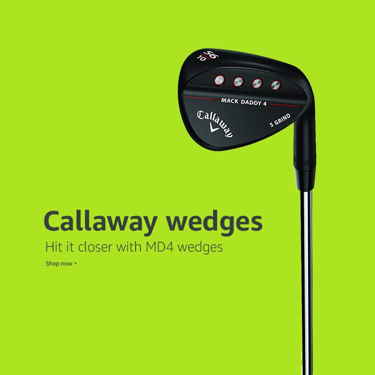 Hit it closer with MD4 wedges