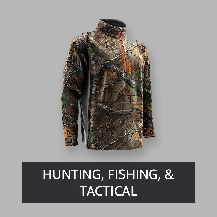 Hunting, Fishing, & Tactical
