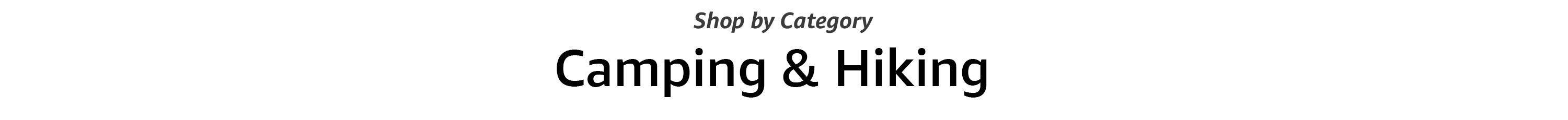 Shop by Category in Camping & Hiking