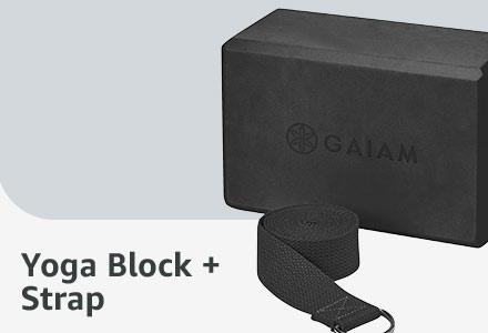 Yoga Block + Strap