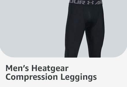 Mens Heatgear Compression Leggings
