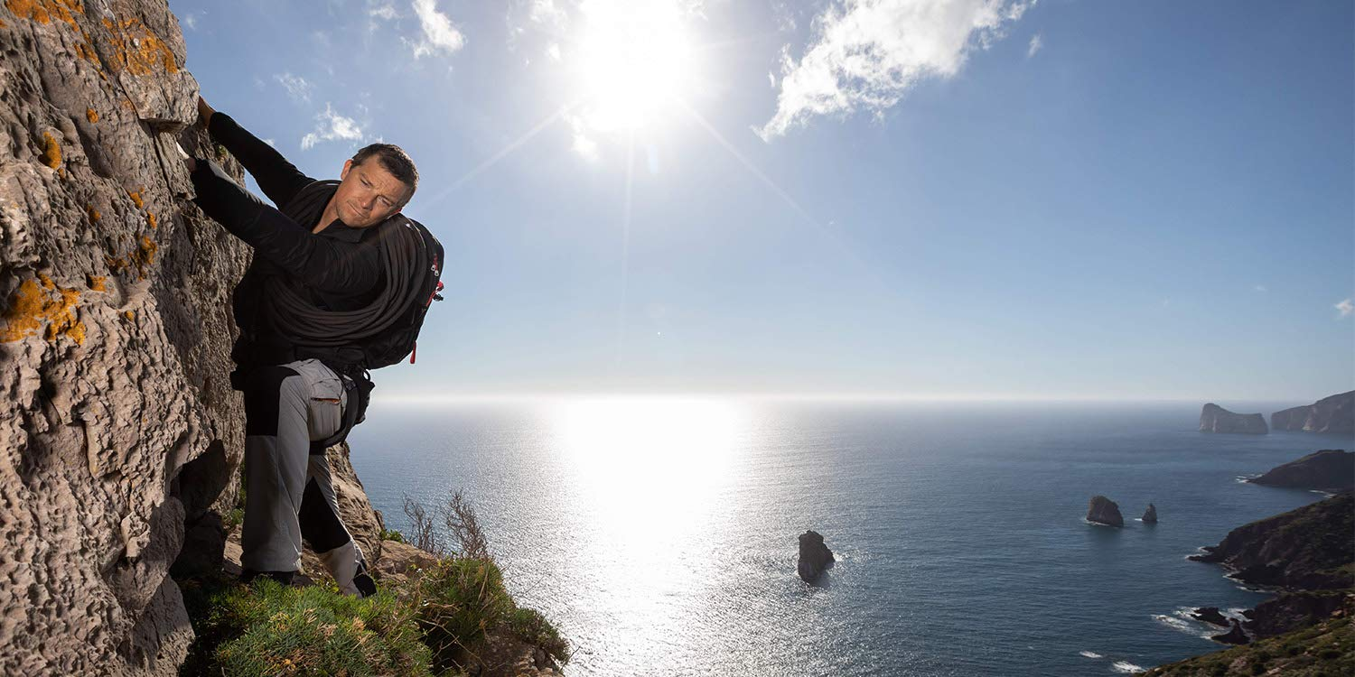 Bear Grylls_Climbing photo