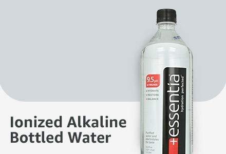 Ionized Alkaline Bottled Water