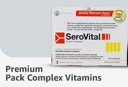 Premium Pack Complex Vitamins