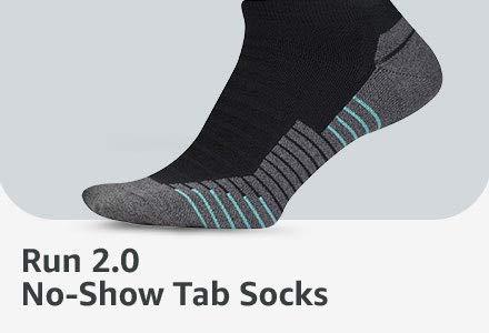 Run 2.0 No-Show Tab Socks