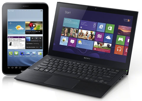 Tablet vs laptop electronics for Notebook tablet