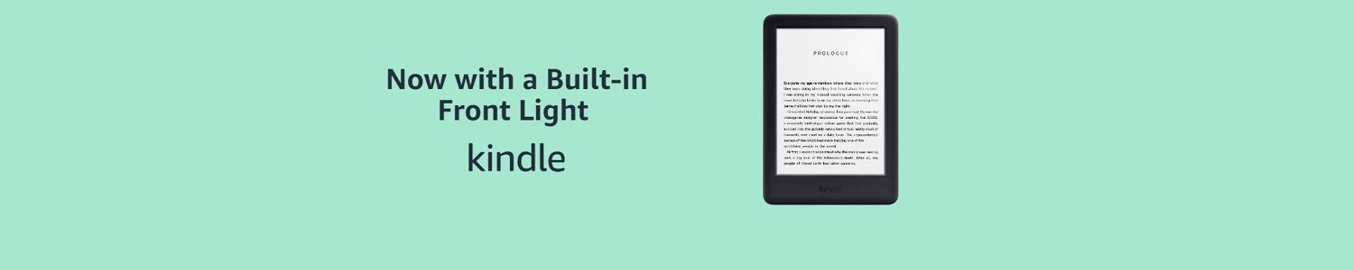 Certified Refurbished Kindle - Now with a Built-in Front Light