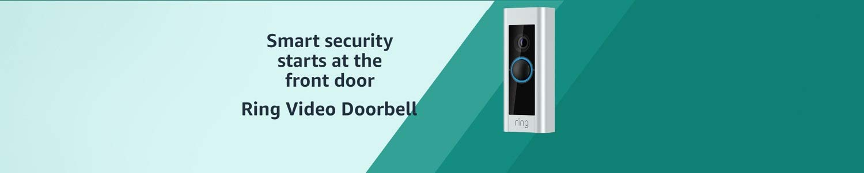 Certified Refurbished Ring Video Doorbell Pro, Works with Alexa