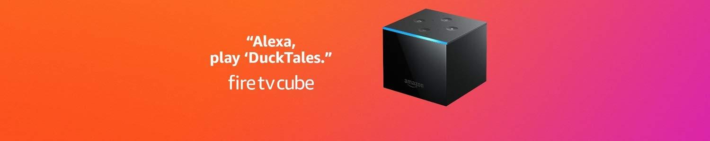 Certified Refurbished Fire TV Cube (1st Gen)