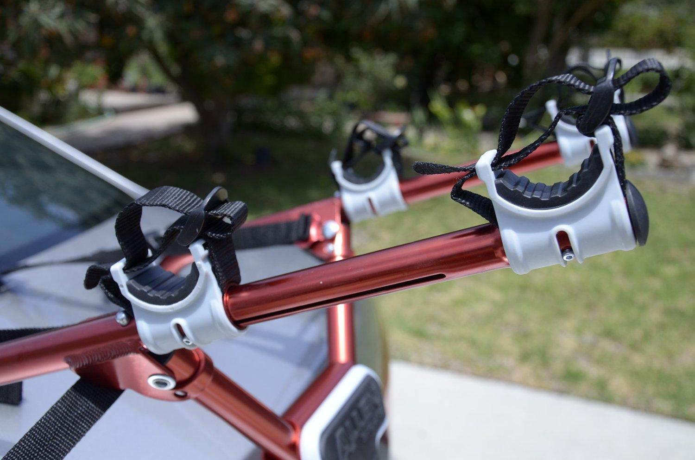 Allen Sports Deluxe 3 Bike Trunk Mount Rack Prius