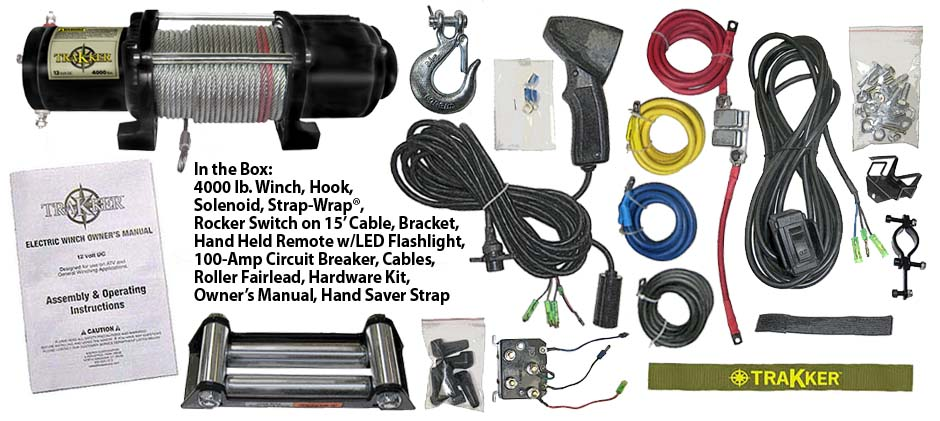 4000box amazon com keeper corporation kt4000 trakker 1 6 horsepower 12v trakker winch wiring diagram at soozxer.org