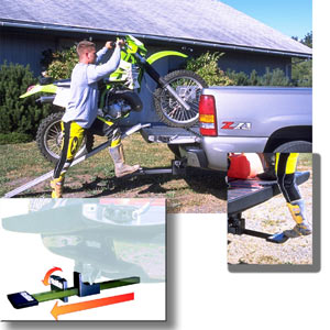 The housing and sliding mechanism of the Heininger HitchMate TruckStep explained