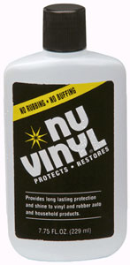 Nu Vinyl Protectant (7.75-ounce bottle)