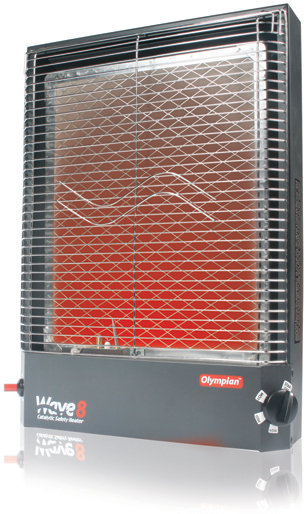 The Camco Olympian Rv Wave 8 8000 Btu Lp Gas Catalytic Heater