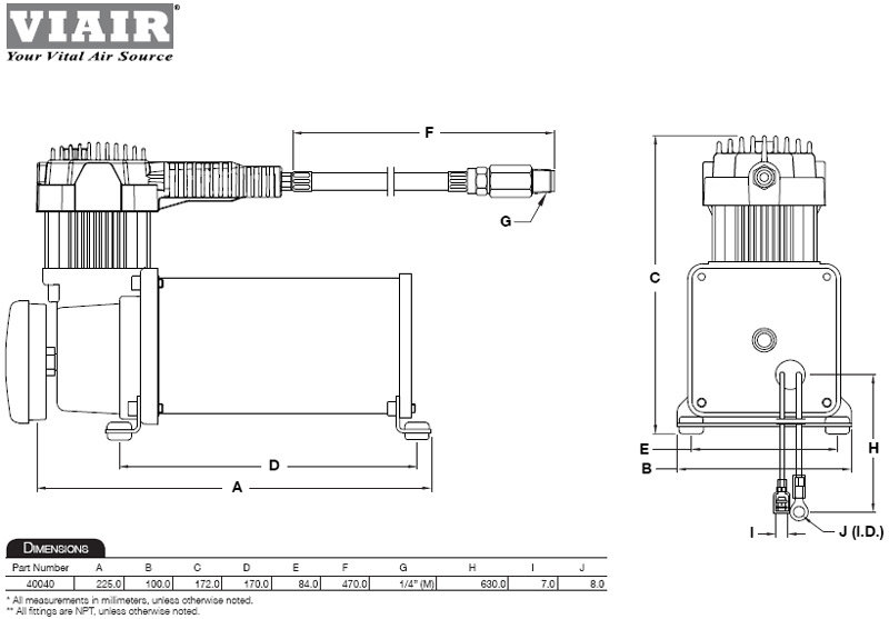 B000FQ78TU.02.lg amazon com viair 40040 400c air compressor kit automotive viair wiring diagram at soozxer.org