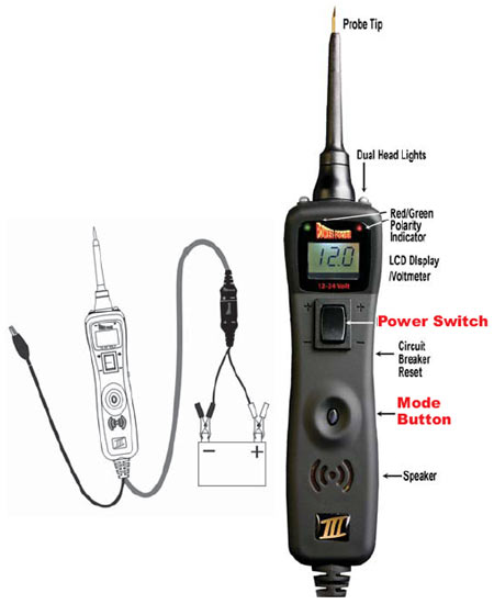 All In One Electrical Testers : Amazon power probe iii black automotive