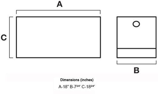 uws ds 18 18 drawer slide box automotive. Black Bedroom Furniture Sets. Home Design Ideas