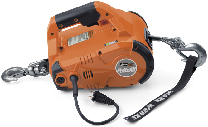 Amazon.com: WARN 685000 PullzAll 110 AC Corded Electric Winch