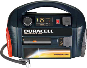 The Duracell Powerpack 300