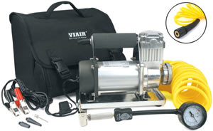 VIAIR 300P Portable Compressor with included accessories
