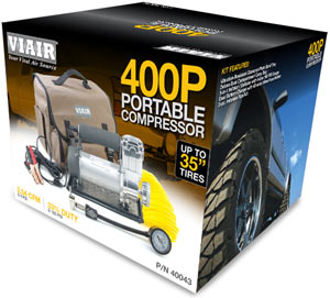 VIAIR 400P Portable Compressor in packaging