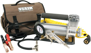 VIAIR 450P Automatic Portable Compressor with included accessories