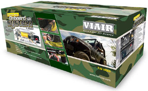 Packaging for the VIAIR X'treme Duty Onboard Air System
