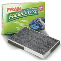 FRAM Fresh Breeze Cabin Air Filter with box